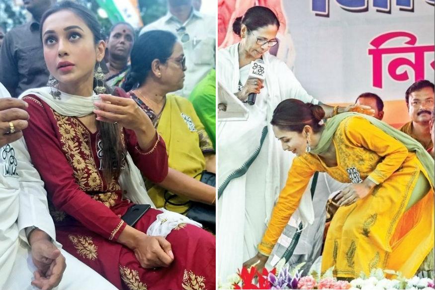 गानेर ओपारे और बापी बारी जा के हिट होने के बाद वो पूरे देश में पहचाने जानी लगीं. इसी के बाद वो पश्चिम बंगाल की मुख्यमंत्री व टीएमसी सुप्रीमो ममता बनर्जी के संपर्क में आईं.