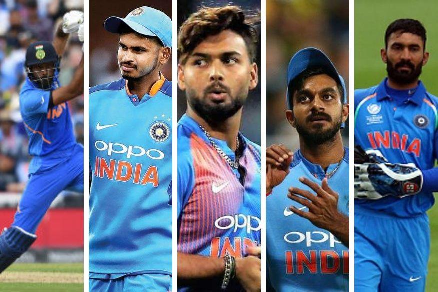चार नंबर - ऑस्ट्रेलिया के खिलाफ नंबर चार पर हार्दिक पांड्या ने तूफानी बल्लेबाजी की थी. लेकिन उस मैच की में टीम इंडिया के टॉप तीन खिलाड़ियों ने अच्छा स्कोर किया था. हार्दिक पांड्या टीम में पांचवें और छठवें नंबर पर बल्लेबाजी करते हैं. नंबर चार पर प्लेइंग XI में ऋषभ पंत, विजय शंकर, दिनेश कार्तिक और श्रेयस अय्यर जैसे विकल्प टीम के पास मौजूद हैं.