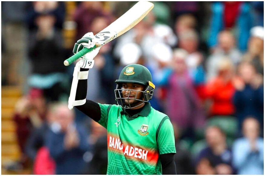 आईसीसी क्रिकेट वर्ल्ड कप के 23वें मैच में बांग्लादेश ने वेस्टइंडीज को 7 विकेट से हरा दिया. वेस्टइंडीज ने पहले बल्लेबाजी करते हुए 321 रनों का विशाल स्कोर बनाया लेकिन बांग्लादेश की टीम ने इस बड़े लक्ष्य को 51 गेंद पहले हासिल कर लिया. बांग्लादेश के लिए शाकिब अल हसन ने नाबाद 124 और लिट्टन दास ने नाबाद 94 रनों की पारी खेली. इस जीत के दौरान बांग्लादेश ने कई रिकॉर्ड अपने नाम कर लिए, आइए डालते हैं उनपर एक नजर.