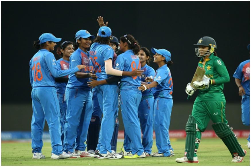 भारत और पाकिस्तान महिला टीम का मुकाबला