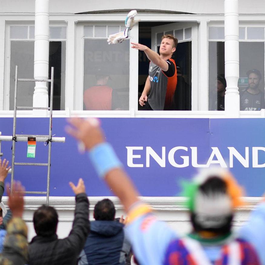 jimmy neesham, india new zealand match, icc cricket world cup 2019, kane williamson, जिम्मी नीशम, न्यूजीलैंड क्रिकेट टीम, क्रिकेट वर्ल्ड कप 2019, केन विलियमसन