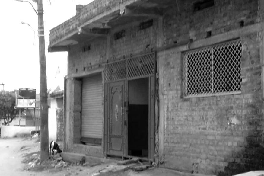 रांची के पिठौरिया गांव में ऋचा का घर (फोटो- न्यूज18 झारखंड)