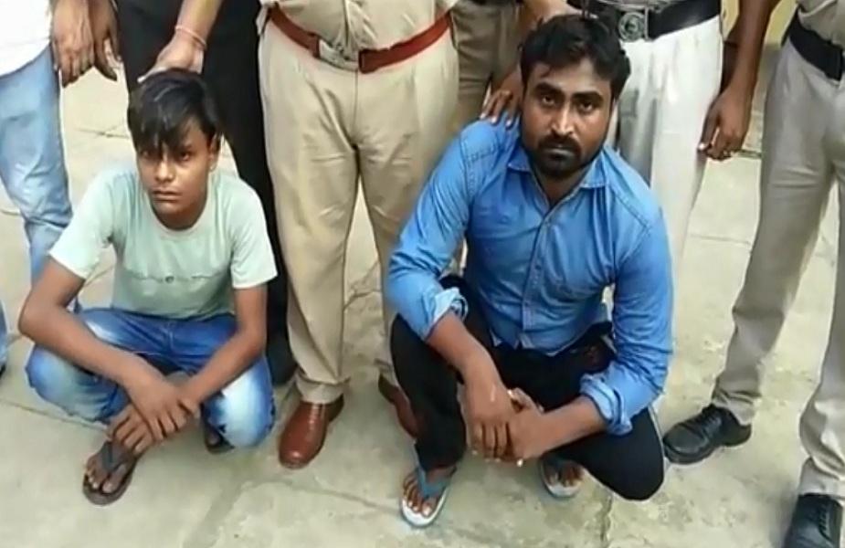 Arrested youth-दो युवक गिरफ्तार