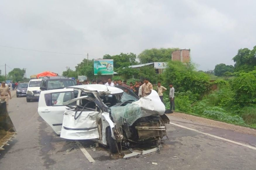 Unnao Gang Rape Victim Road Accident