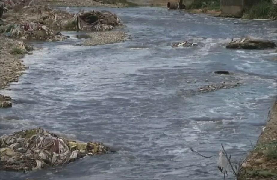 नदी में प्रदूषण, Pollution in river