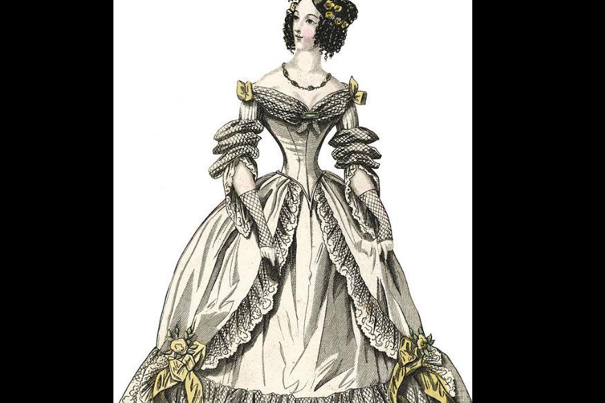 18वीं सदी की स्त्रियां ऐसे कॉरसेट पहना करती थीं