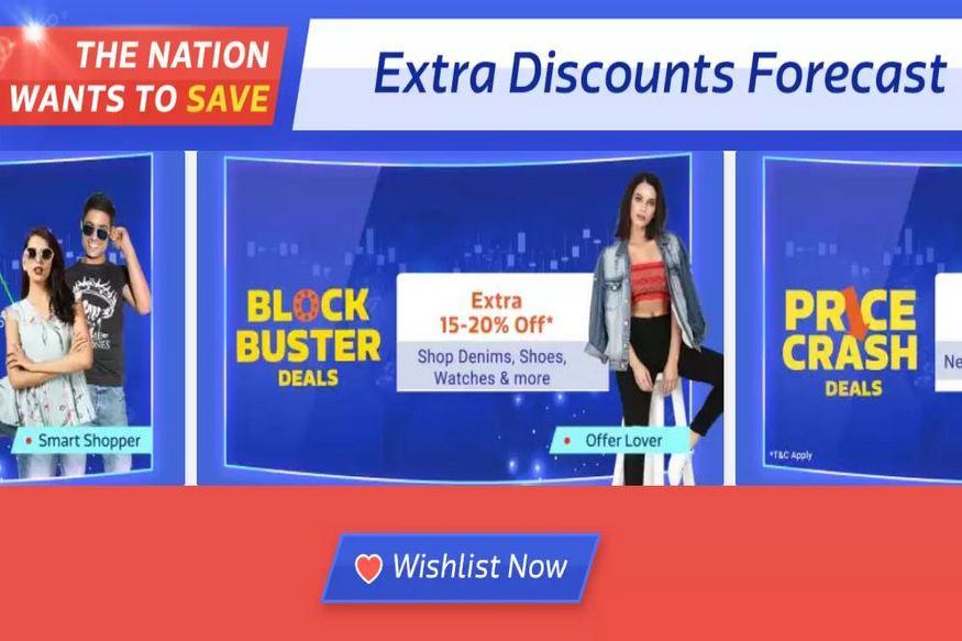 flipkart big shopping days sale begins