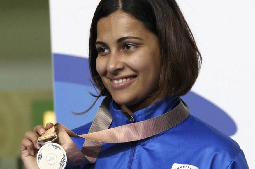 heena sidhu, commonwealth games 2019, shooting