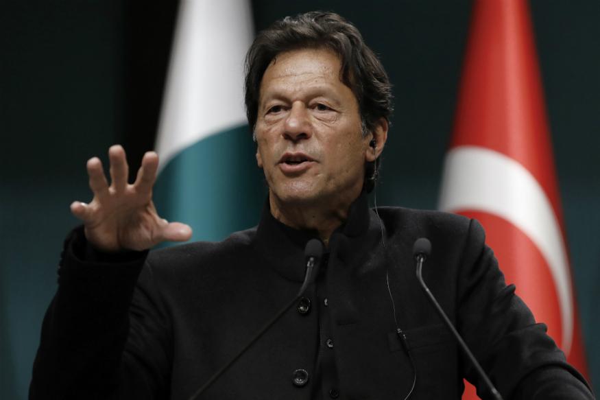 पाकिस्तान के प्रधानमंत्री इमरान खान.