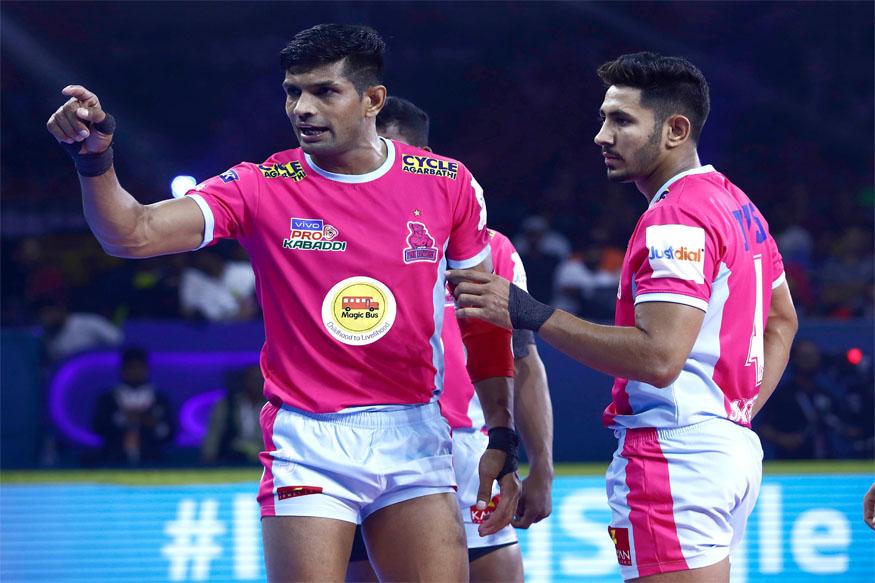 pro kabaddi league 2019, PKL 2019 news, jaipur pink panthers, u mumba, jaipur pink panthers vs u mumba, प्रो कबड्डी लीग 2019, जयपुर पिंक पैंथर्स, यू मुंबा