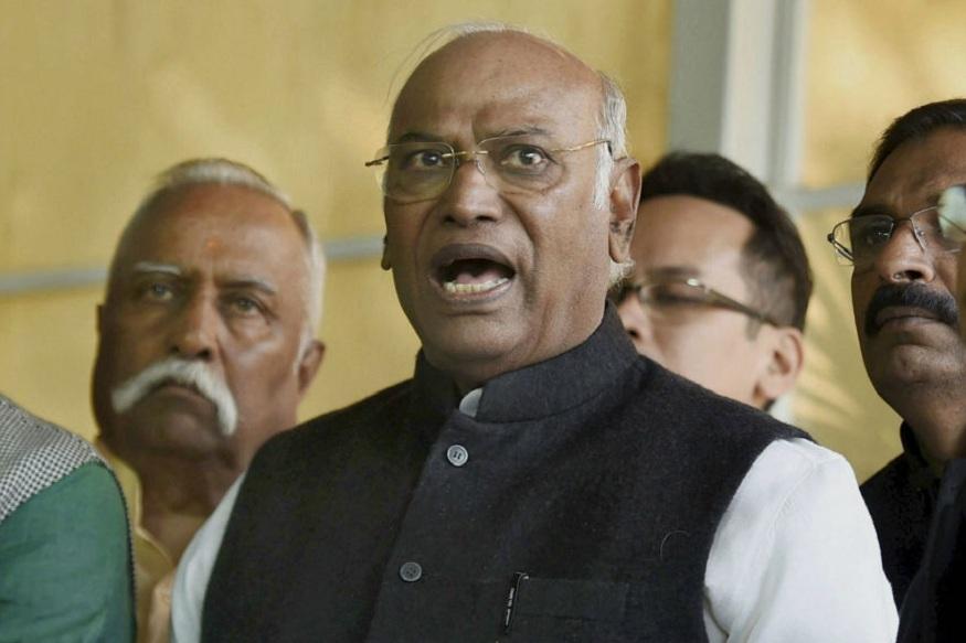 कांग्रेस का दलित चेहरा हैं खड़गे Khadge is the Dalit face of congress