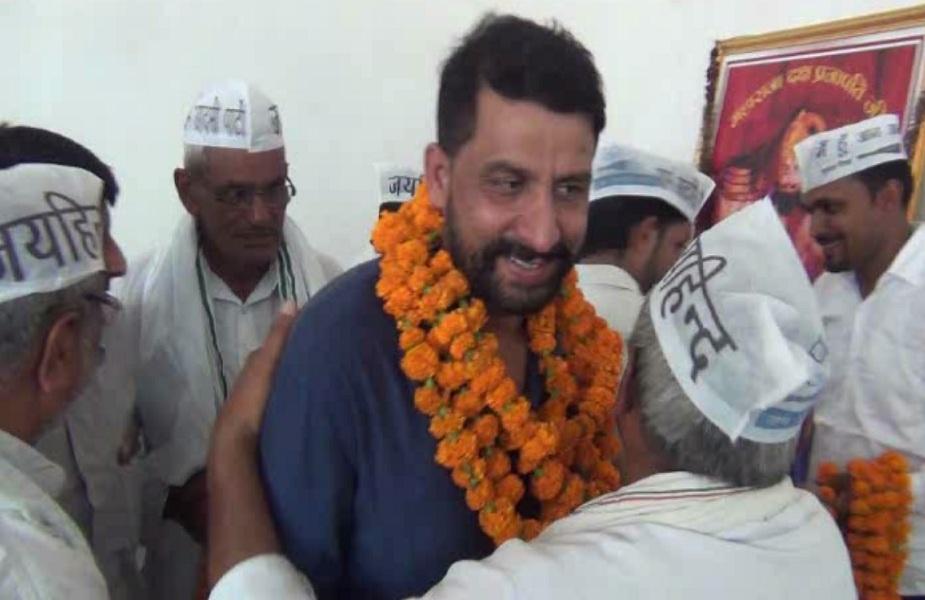 चरखी दादरी में नवीन जयहिंद का कार्यकर्ताओं ने किया स्वागत