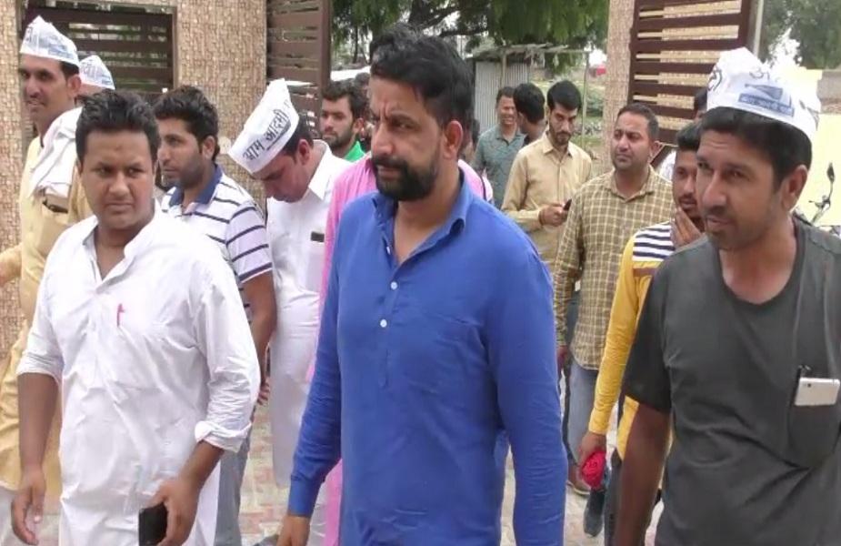 आम आदमी पार्टी के प्रदेशाध्यक्ष नवीन जयहिंद ने उम्मीद सम्मेलन में की शिरकत