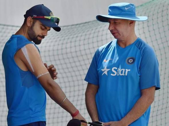 icc, cricket, icc cricket world cup, Shankar Basu, physio Patrick Farhart, indian cricket team, भारतीय क्रिकेट टीम, आईसीसी, क्रिकेट, आईसीसी क्रिकेट वर्ल्ड कप 2019, पैट्रिक फरहर्ट, शंकर बासु,