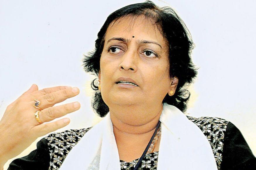 शांता रंगास्वामी भारत की पहली महिला क्रिकेट कप्तान हैं (twitter)