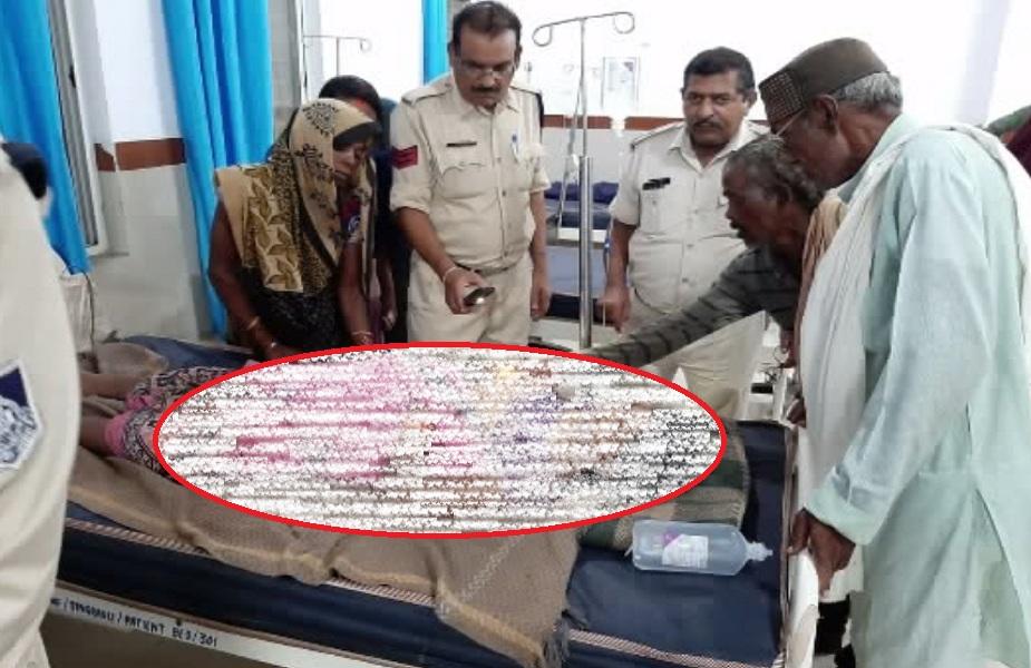दबंगो ने जमीन पर कब्जा करने के चलते आदिवासी महिला को कुचला, इलाज के दौरान हुई मौत