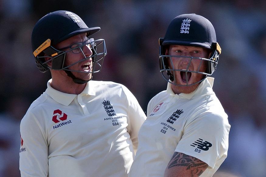 cricket, ben stokes, ashes, england vs australia, england cricket team, australia cricket team, jack leach, क्रिकेट, इंग्लैंड वस ऑस्ट्रेलिया, इंग्लैंड क्रिकेट टीम, ऑस्ट्रेलिया क्रिकेट टीम, बेन स्टोक्स, जैक लीच, एशेज टेस्ट सीरीज