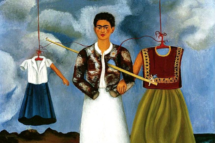 मैक्सिकन पेंटर फ्रीडा काल्हो की प्रसिद्ध पेंटिंग 'मेमोरी: द हार्ट'