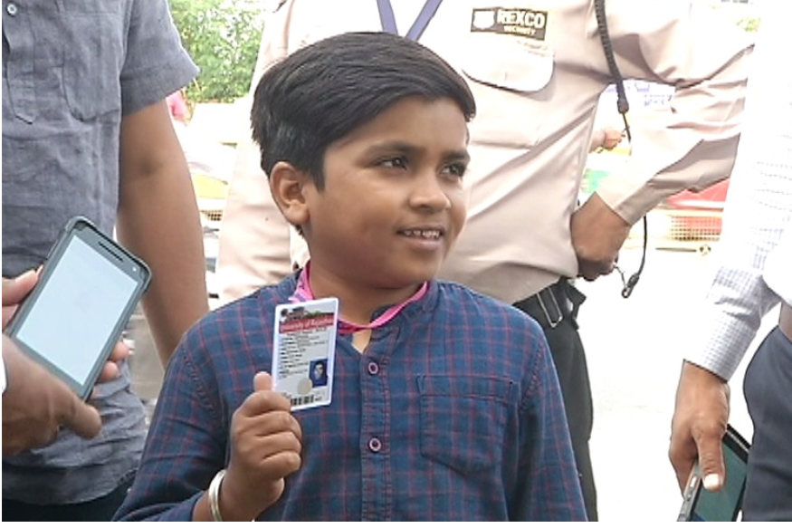 Student Mahavir Goliya-छात्र महावीर गोलिया