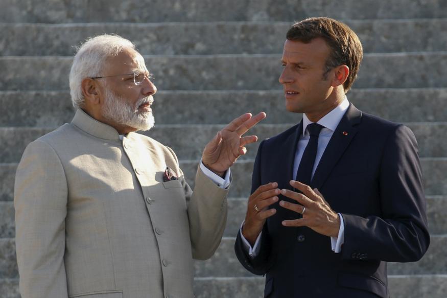प्रधानमंत्री नरेंद्र मोदी फ्रांस की यात्रा पर हैं.