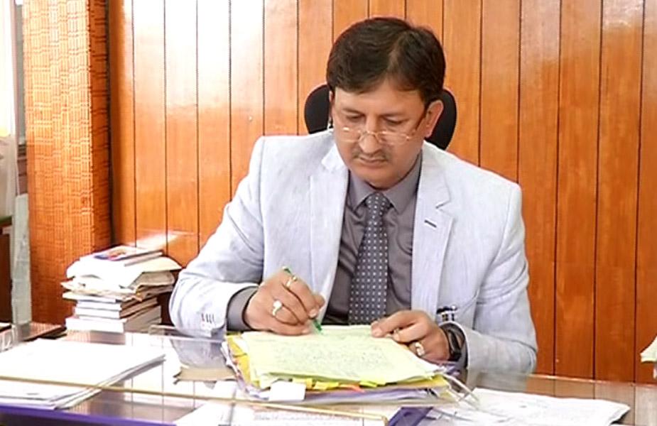 कुलपति प्रोफेसर सिकंदर कुमार -sikandar kumar vc