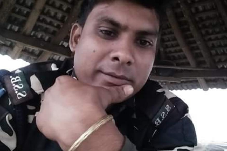 मृतक बीएसएफ जवान अरुण कुमार