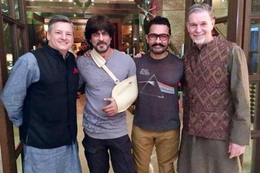 शाहरुख और आमिर एक साथ पहले नहीं किए हैं.