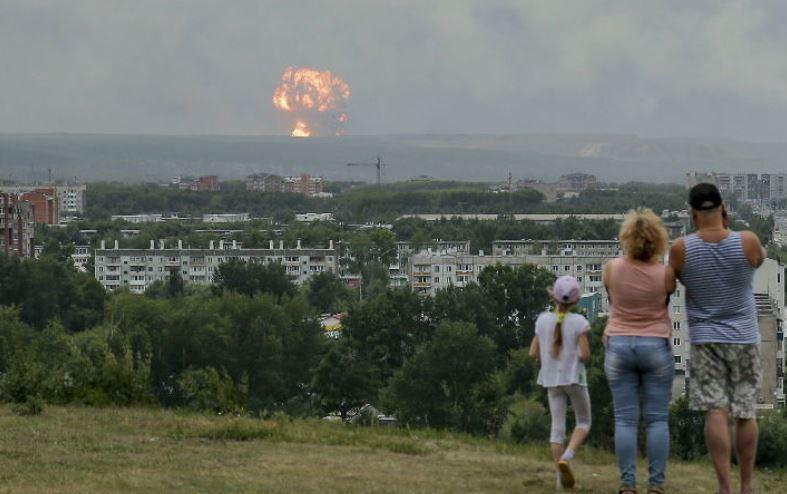 Russia, rocket test, nuclear scientist, radiation, blast