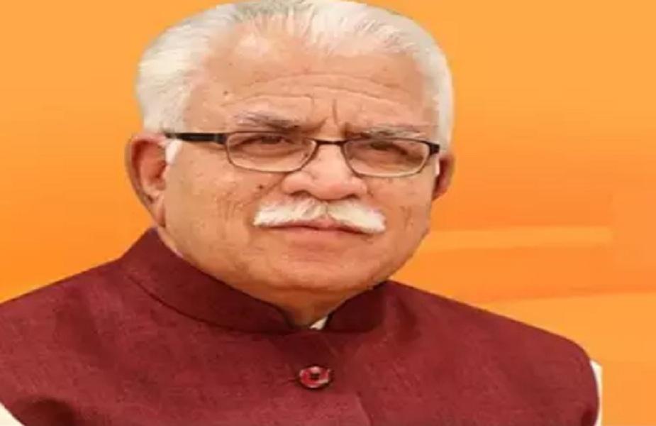 मुख्यमंत्री मनोहर लाल ने दी नवदीप सैनी को बधाई( फाइल फोटो)