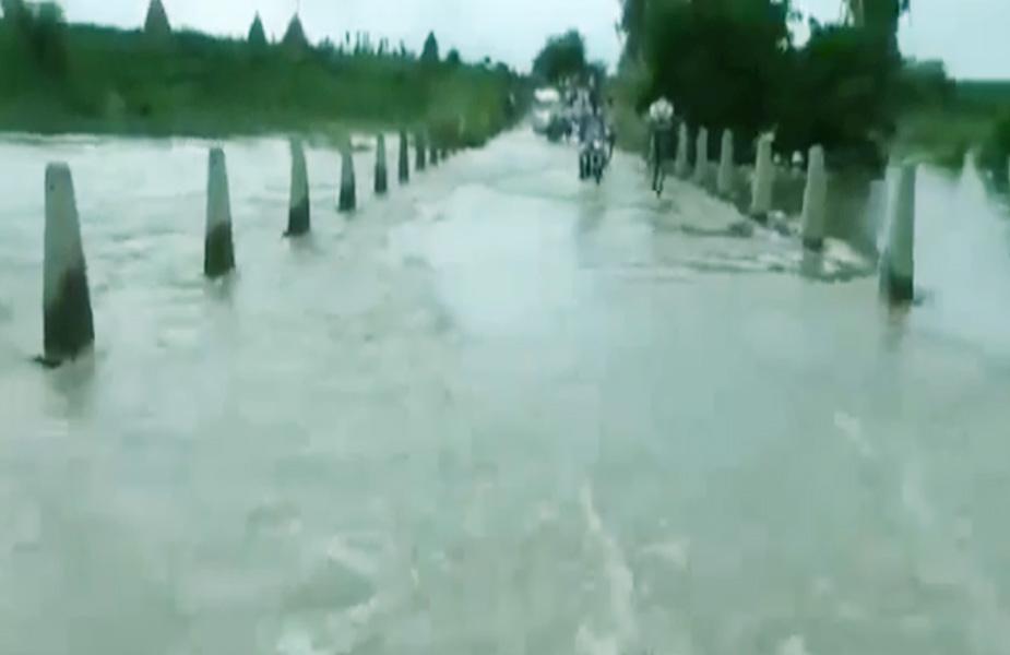 flood-karnal- करनाल बाढ़