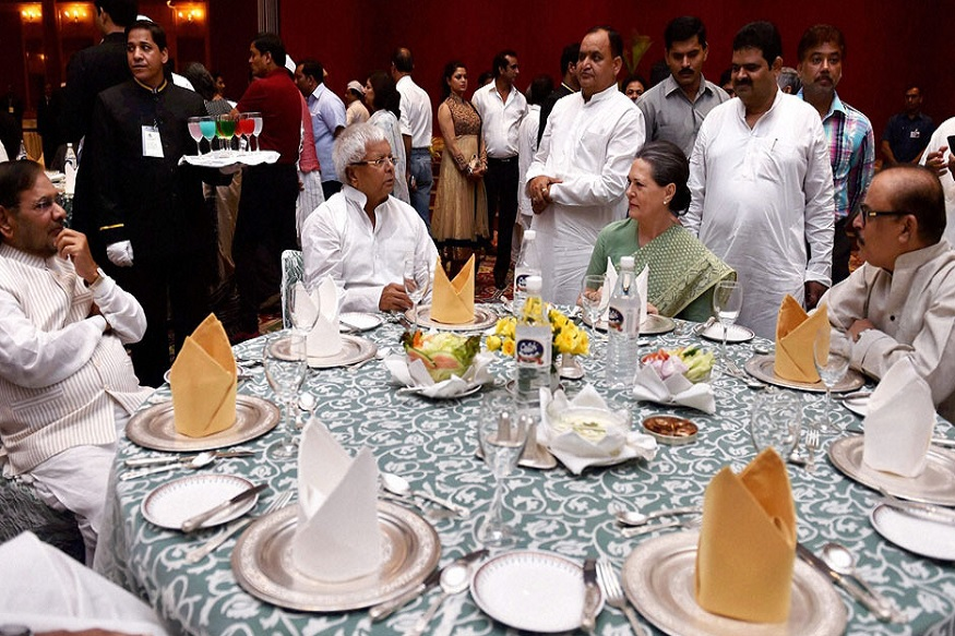 lalu with upa chairperson sonia gandhi