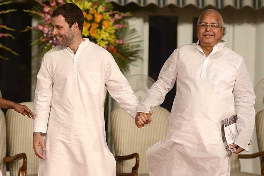 lalu with rahul gandhi