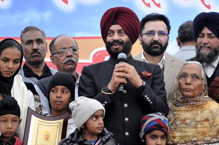 Manjinder Singh Bitta, Article 370