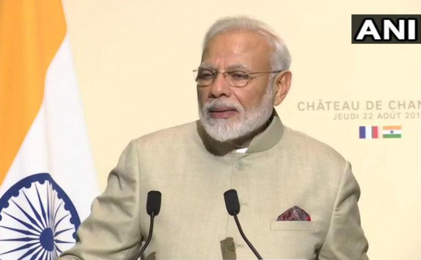 2022 तक भारत की इकोनॉमी को 5 ट्रिलियन डॉलर करना है लक्ष्य- PM मोदी