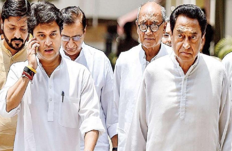 मध्यप्रदेश के 2018 के चुनाव में पार्टी के स्टार केंपेनर रहे ज्योतिरादित्य सिंधिया (फाइल फोटो)