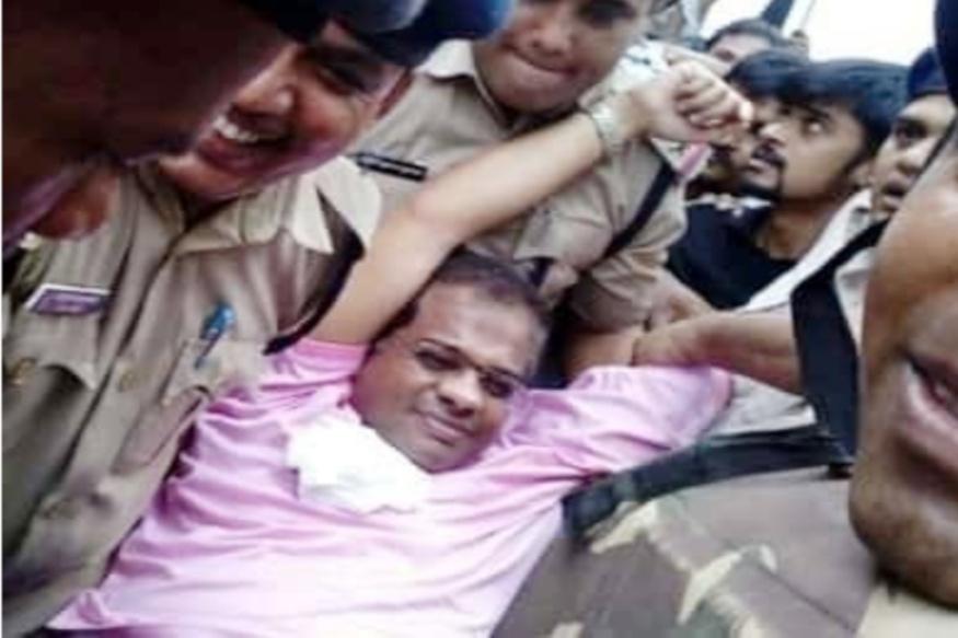 Amit Jogi, Chhattisgarh, police