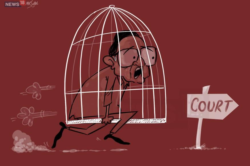 पी चिदंबरम को तिहाड़ में जेल नंबर सात में रखा गया है.