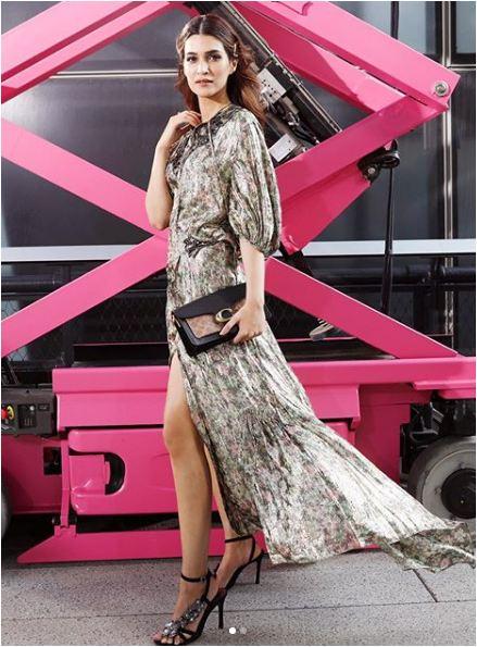 न्यूयॉर्क फैशन वीक में कृति सेनन