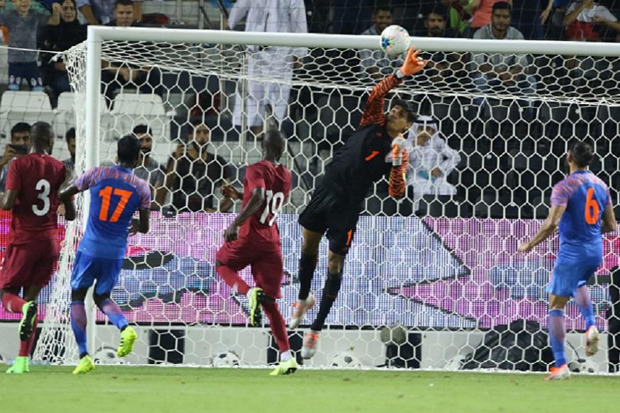 2022-fifa-world-cup Qualifier, Gurpreet Singh Sandhu,Sunil Chhetri, team india फीफा वर्ल्ड कप क्वालीफायर, गुरप्रीत सिंह संधू, सुनील छेत्री