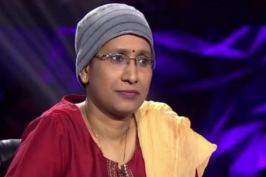 KBC की हॉट सीट पर पहुंचीं कैंसर पेशेंट आरती कुमारी, जीते