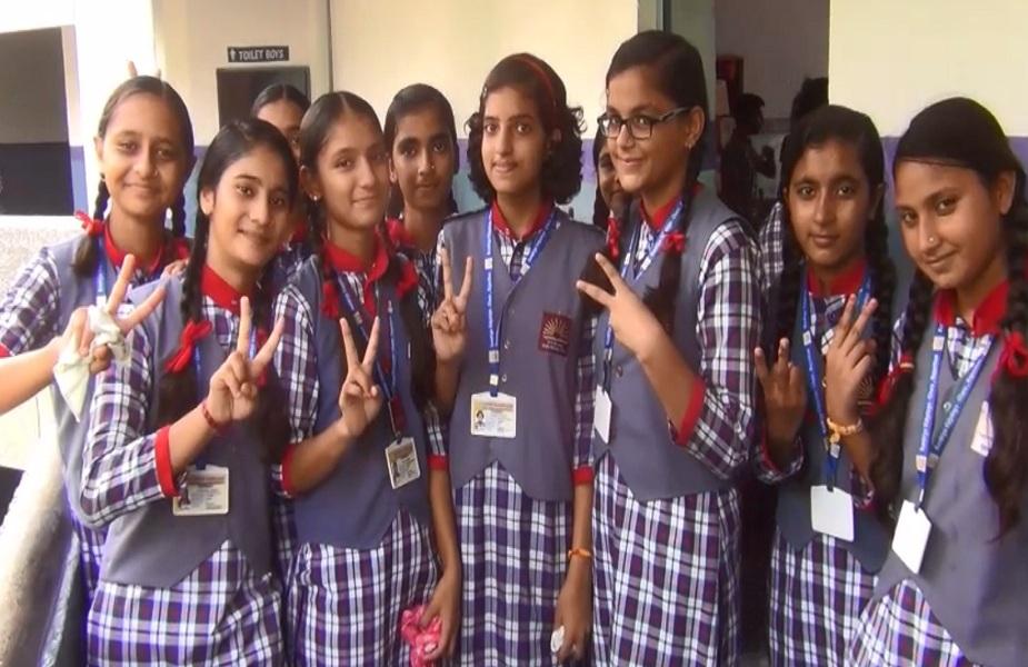 इसरो की ऑनलाइन क्विज प्रतियोगिता में भाग लेने पर गरिमा का हुआ चयन