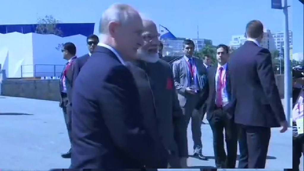 PM Modi in Russia