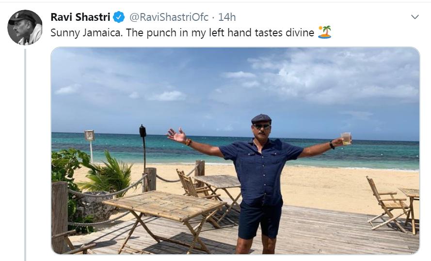 ravi shastri team india india vs west indies