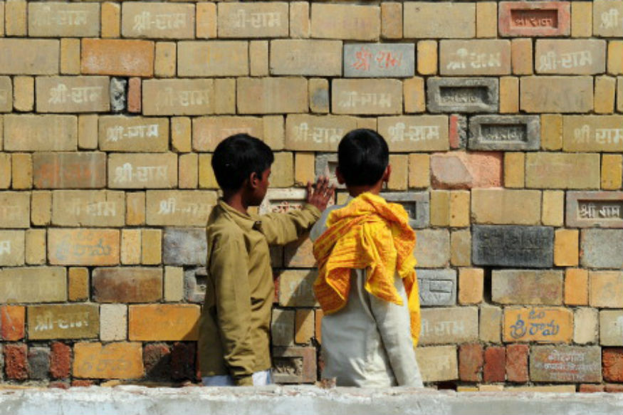 when allahabad high court divided ayodhya ram mandir babri masjid disputed land into 3 parts