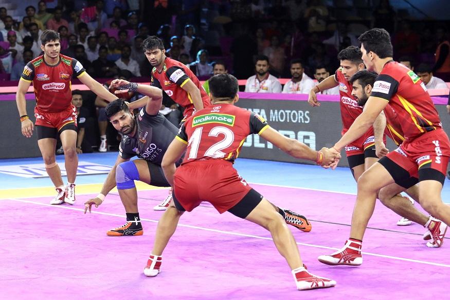 Pro Kabaddi League 2019, Jaipur Pink Panthers, Bengaluru Bulls, U Mumba, प्रो कबड्डी लीग, जयपुर पिंक पैंथर्स