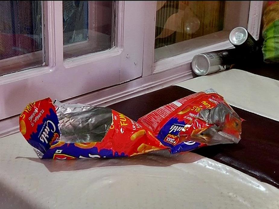 चोर ने खाए चिप्स.