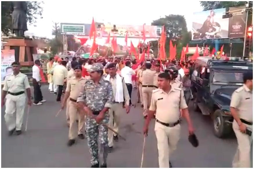 Celebratory firing in Gwalior-Vishva Hindu Parishad and Bajrang Dal-FIR lodged