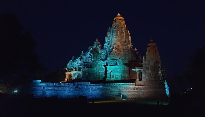 Khajuraho Temple Light and Sound Show