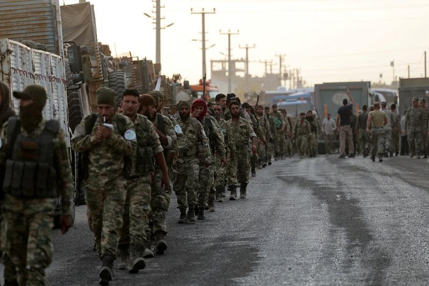 Northern Syria, Turkish Airstrike, Kurdish Administration, Declaration of Agreement, Syrian Soldiers