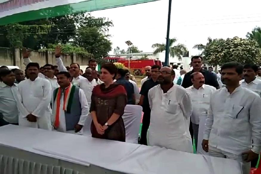Priyanka gandhi in raeb congress